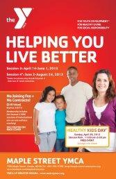 View pdf - Maple Street YMCA