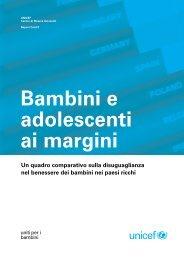 Bambini e adolescenti ai margini - Cismai