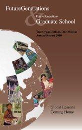 FutureGenerations Annual Report 2010.pdf