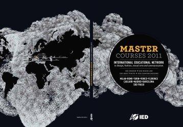 copertina brochure master - Istituto Europeo di Design