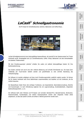 LaCash® - Kalisch Computer- und Kassensysteme GmbH