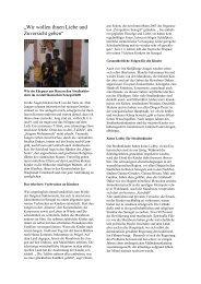 Bericht von Bettina Köster-Spurgart 4/2004 - Perspektive Senegal