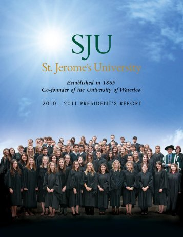 2011 board of governors - St. Jerome's University