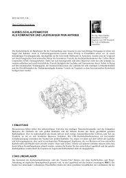 kurbelschlaufenmotor als kompakter und laufruhiger pkw-antrieb - FSB