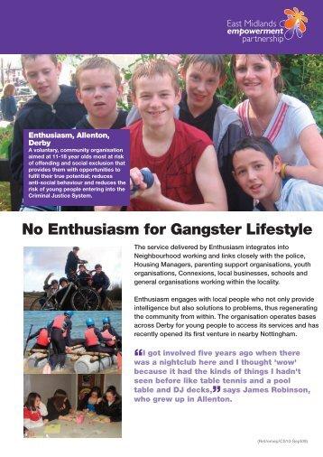 Enthusiasm, Allenton, Derby - One East Midlands