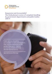 Responsive and Accountable? The Ombudsman's review of ...