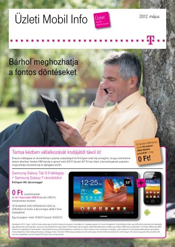 Mobil Info 2012. május - T-Mobile