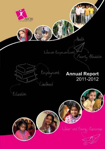 annual report - 2011-2012 - Aroh Foundation