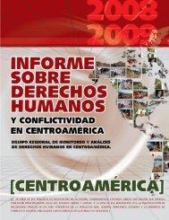 Informe sobre Derechos Humanos y conflictividad en ... - UPNFM