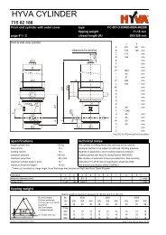 HYVA 71502180 - FC 091-3-03460-000A-K0298 - dominga.lt