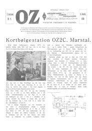 Kortbølgestation OZ2C. Marstal. - risby.nu