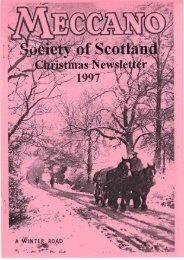 Index December - Meccano Society of Scotland
