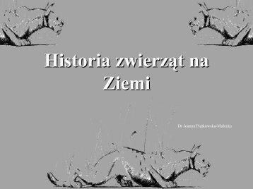 Historia zwierząt cz. 1