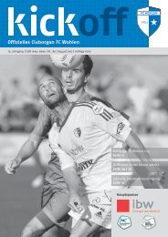 FC Wohlen – SaiSon 2012/2013