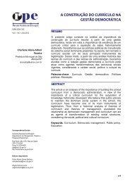 A Construção do Currículo na Gestão Democrática - Prefeitura ...