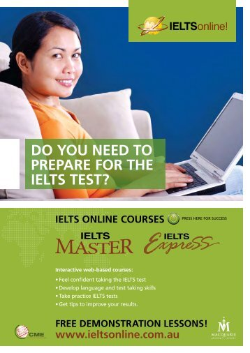 Do you neeD to PrePare For the ielts test? - International ...