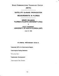 SATELLITE Ka-BAND PROPAGATION ... - DESCANSO