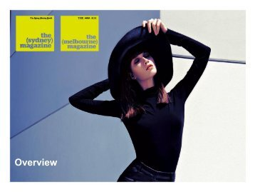 magazine Short Creds - Fairfax Media Adcentre
