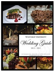 Wedding Catering Guide. - CampusDish
