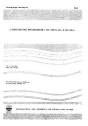 Working Paper and Preprint 86/6 - ISRIC World Soil Information