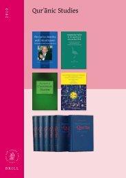 Qurʾānic Studies - Brill