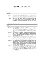 Local Publication List - Technische Universitaet Dresden ...