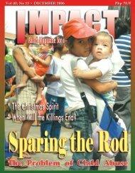 December 2006 - IMPACT Magazine Online!