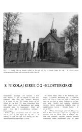 Klosterkirken - Danmarks Kirker - Nationalmuseet