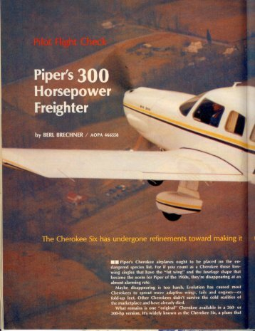 LThe Six's panel - Aero Resources Inc