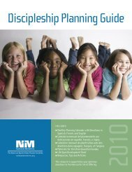2010 Discipleship Planning Guide - American Baptist Home Mission ...