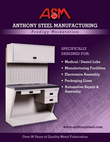 Prodigy Workstation - Anthony Steel Manufacturing