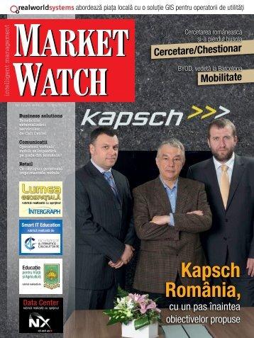 Aprilie - Mai 2013 [Nr. 154] - Market Watch