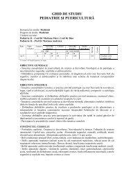 ghid de studiu pediatrie2012 - UMF