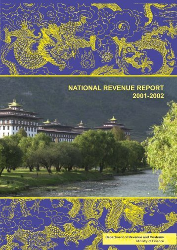 Revenue Report for (2001-2002) - Ministry of Finance