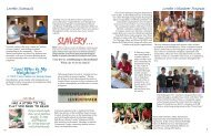 Annual Report 2011, part 2 - Loretto Community