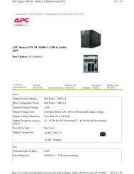 APC Smart-UPS XL 1000VA USB & Serial 230V