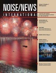 Volume 12, Number 3, September, 2004 - Noise News International