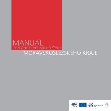 Manuál jednotného vizuálního stylu Moravskoslezského kraje
