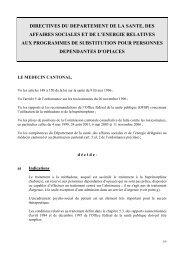 directives du departement de la sante, des affaires sociales et de l ...