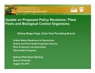 Plant Pests - National Plant Board