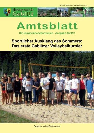 Amtsblatt 4/12 (7,41 MB) - .PDF - Gablitz