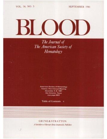 Front Matter (PDF) - Blood