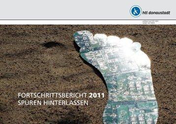 fortschrittsbericht 2011 spuren hinterlassen - HTL Donaustadt