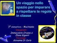 Un viaggio nello spazio per imparare a rispettare ... - USP di Piacenza