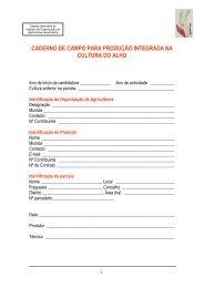 Caderno de Campo Alho - Embrapa