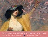 California & American Fine Art Auction - California Art Auction