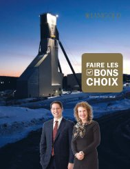 Rapport Annuel 2012 - Iamgold