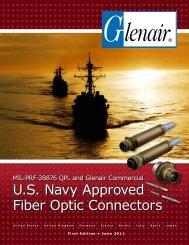 U.S. Navy Approved Fiber Optic Connectors - Glenair, Inc.