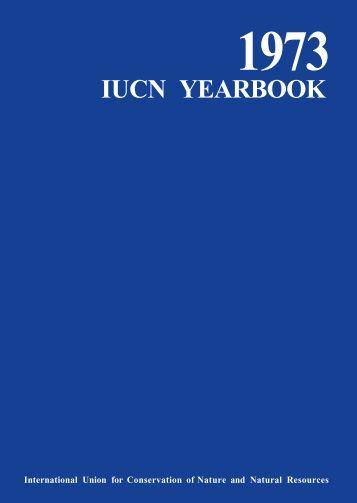 1973 iucn yearbook
