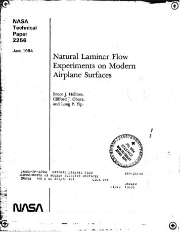 NASA Technical Paper 2256 - CAFE Foundation